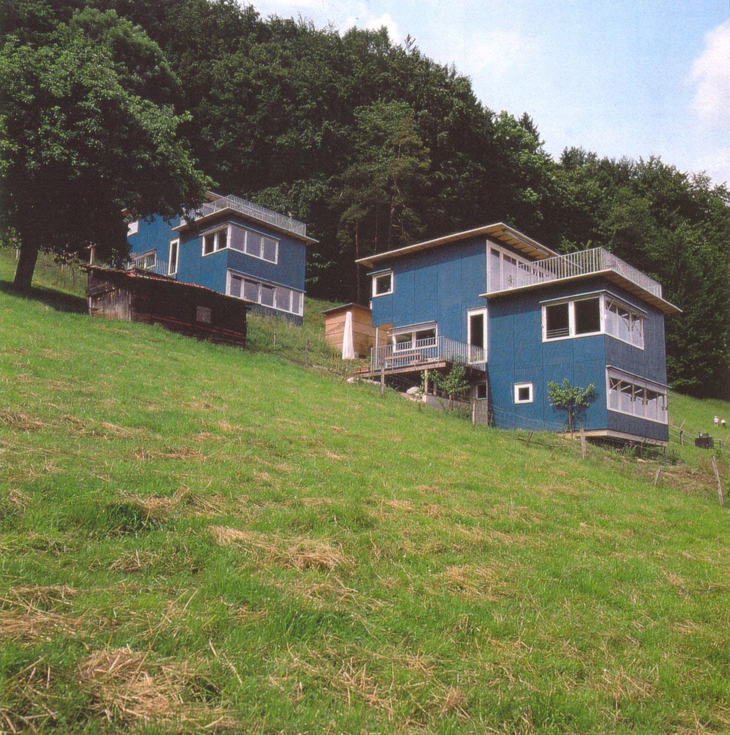 3 Holzhäuser Am Hang, Architheke AG